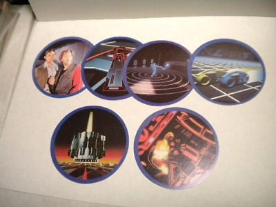 Tron Movie York Peanut Butter rare cards set 1981