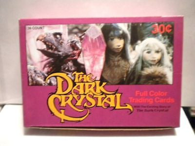 David Bowie Dark Crystal movie cards full box 1985