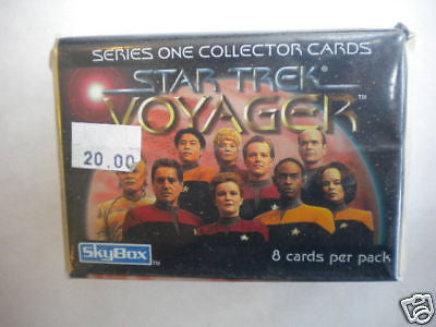 Star Trek Voyager series 1 card set 1990