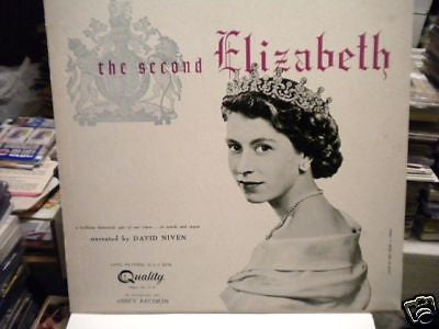 Royal Family Queen Elizabeth rare record album 1950s