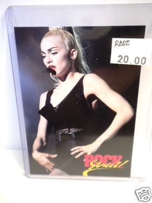 Madonna rare vintage mint collectible card 1990