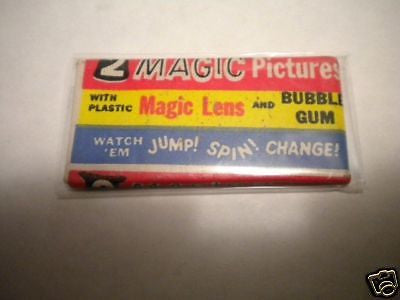 Magic Pictures Bowman rare unopened pack 1955