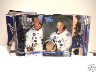 NASA Space Shots embossed mint vintage boxed card set 1990s