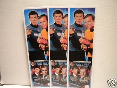 Star Trek original series rare 3 bookmarks