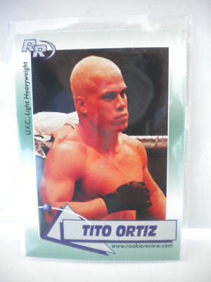 UFC Tito Ortiz limited issued trading card