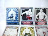 UFC Both Barrels rare series 3 foil insert card set