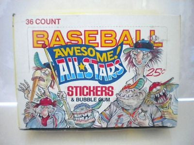 Baseball Awesome Allstars full box 1980