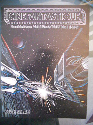 Star Wars Cinefantastique rare magazine 1978