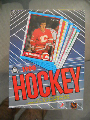 NHL Hockey cards OPC mint sealed full box 1989