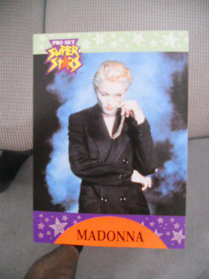 Madonna rare limited issued preview card 1991