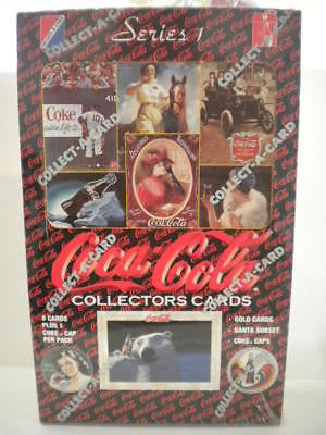 Coca-Cola cards series 1 full box 1990