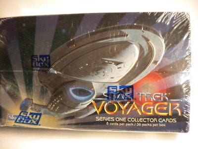 Star trek Voyager cards full sealed box 1994