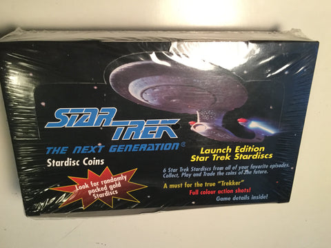 Star Trek Next Generation Rare Stardisc full box 1980s