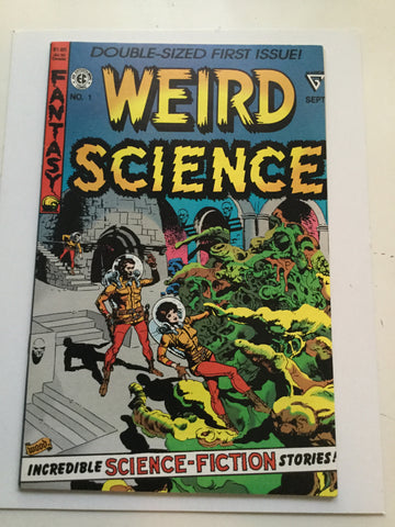 Weird Science #1 comic book 1990
