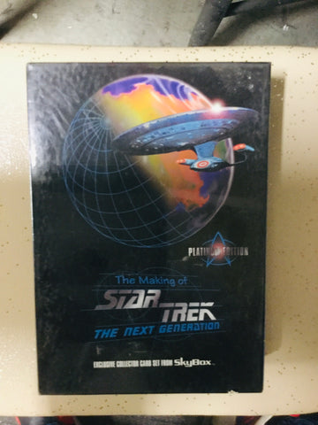 Star Trek Next Generation making of factory sealed special box set