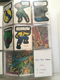 Marvel Superheroes rare sticker cards set 1975