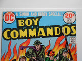 Boy Commandos #1 rare fn/vf comic book