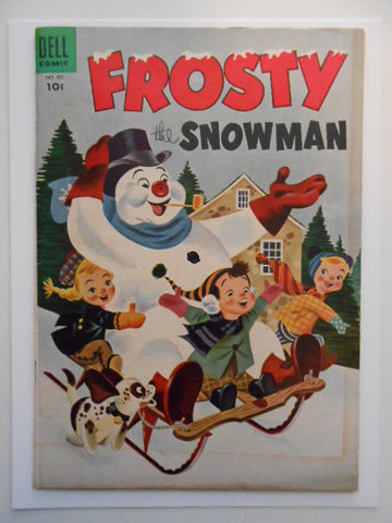 Frosty the Snowman rare vg comic 1950s