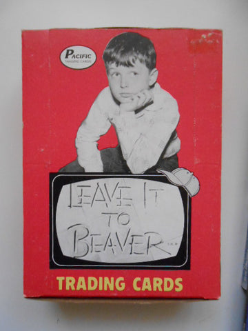 Leave it to Beaver cards rare full box