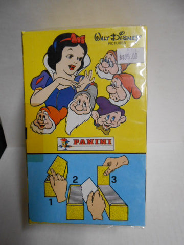 Snow White Disney Panini rare full box 1990s