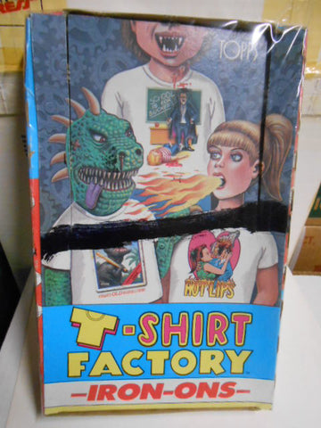 T Shirt Factory Iron ons rare full vintage box 1970s