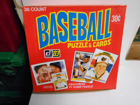 Donruss Baseball cards rare 36 packs full box 1983