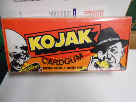 Kojak TV show cards rare full box 1974