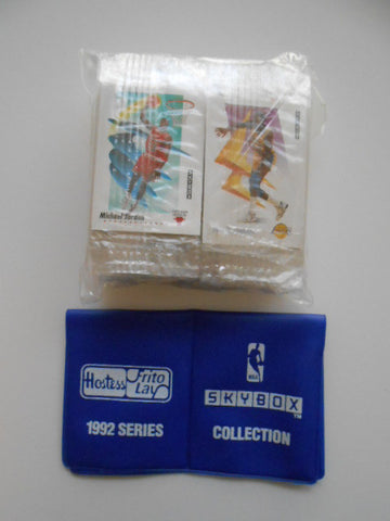 NBA Basketball Hostess Chips rare mini card set 1992