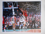 Julius Erving NBA legend signed 8x10 photo w/COA