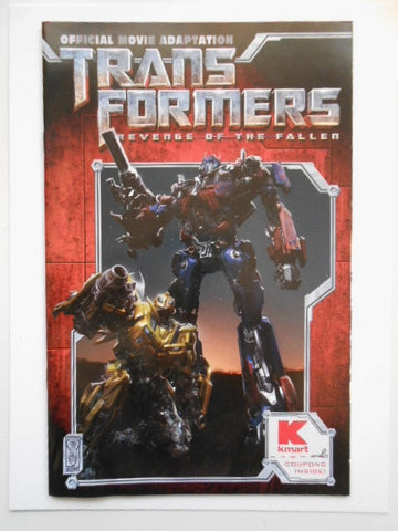 Transformers movie Kmart limited issued comic book