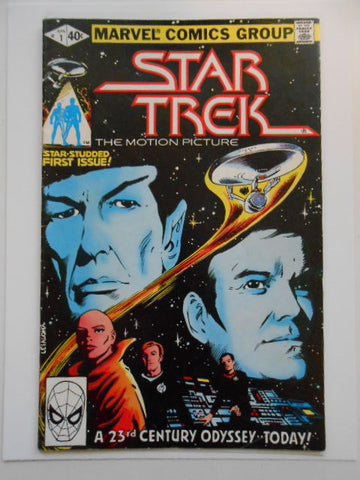 Star Trek #1 rare vf/nm comic book 1979