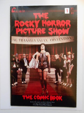 Rocky Horror Picture Show movie rare comic book 1990