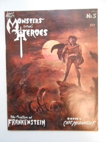Monsters and Heroes rare Horror magazine 1969