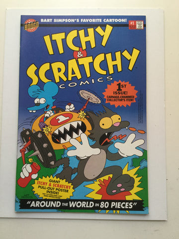 Simpsons Itchy and Scratchy Rare #1 comic book