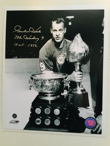 Gordie Howe NHL hockey legend signed in person autograph with COA