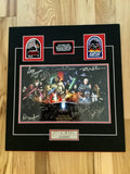 Star Wars multi autograph matted photo with COA