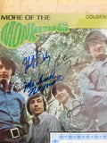 The Monkees rare Four autographs signed record with COA