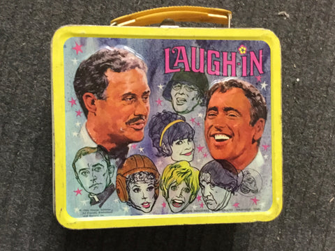 Laugh-In TV show rare metal lunch box 1967