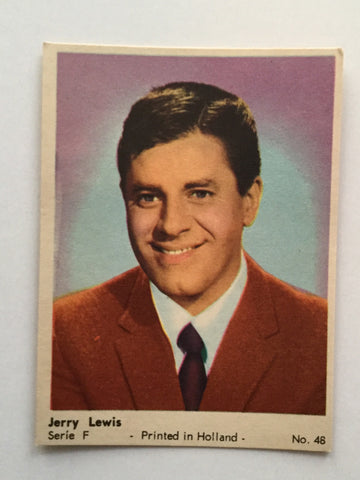 Jerry Lewis rare ex/nm card 1960