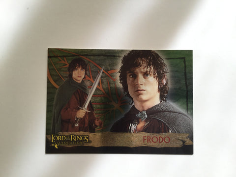 Lord of the Rings rare foil promo card