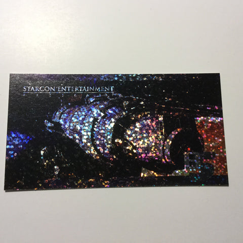 Babylon 5  rare Spectra foil etched test card 1997