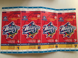 Blue Jays World Series 4 baseball tickets 1998