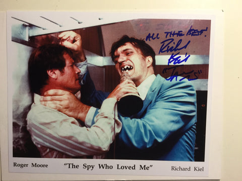 James Bond Richard Kiel signed photo w/COA