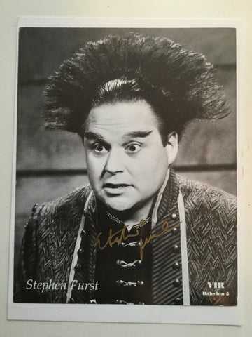 Steven Furst Babylon 5 rare signed photo w/COA