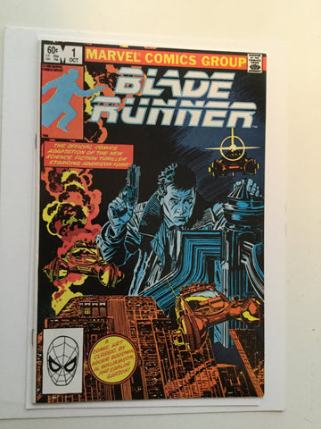 Blade Runner movie comic book 1982