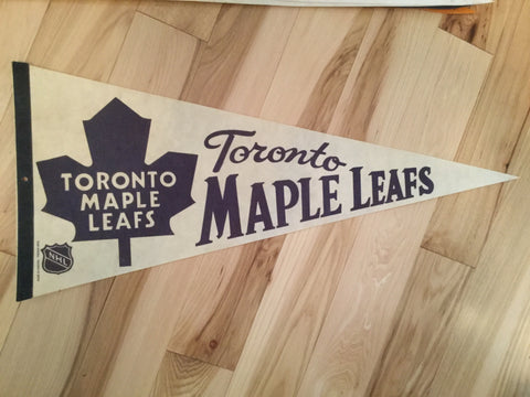 Toronto Maple Leafs hockey rare Pennant 1970s