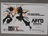 Anime Japan animation Afro Samurai movie 11x17 poster
