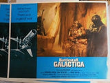 Battlestar Galactica movie original Lobby cards set 1978