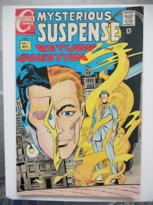 Mystery of Suspense #1  comic 1960s