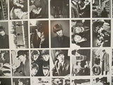 Beatles rare vintage uncut card sheet full set 1970s or 80s?